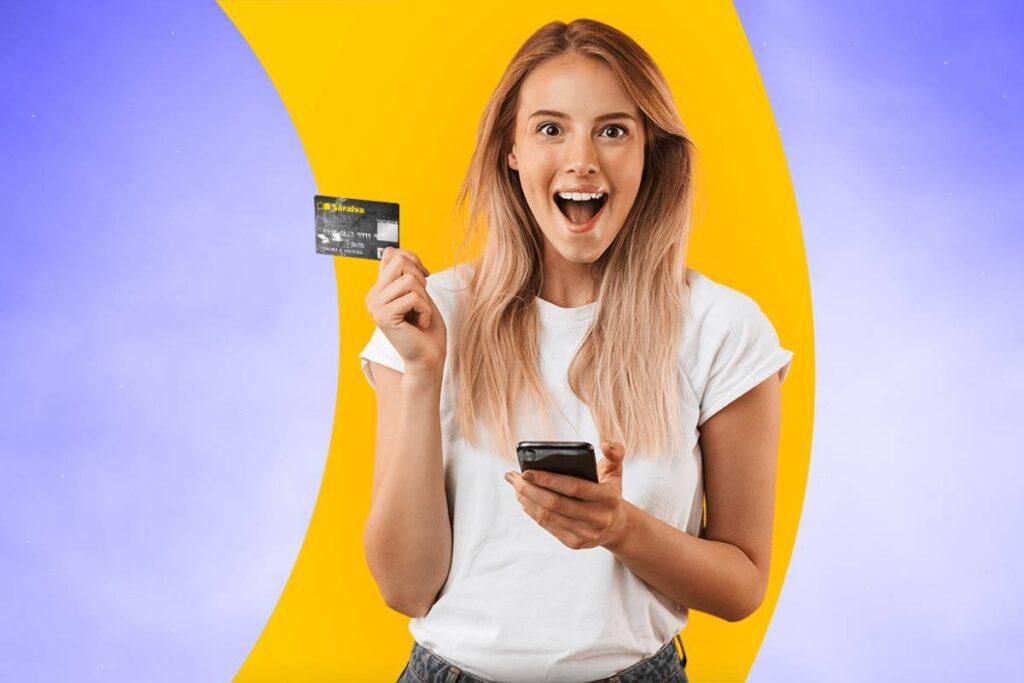Cartão de credito Saraiva