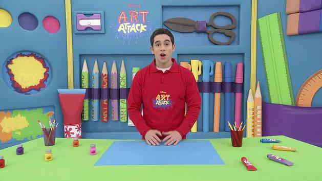 Art Attack na Disney morreu Programa Infantil