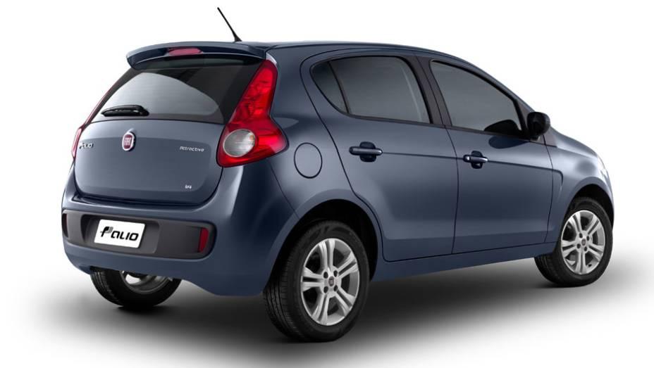 Imagens do Fiat Palio 2022