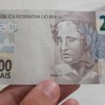 sonhar com nota de 200 reais